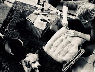 Maison Louise atelier de tapisserie